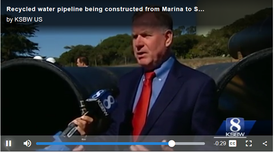 Recycled Water Pipeline, Marina to Seaside